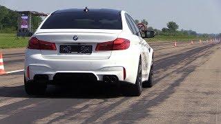 Download 720HP BMW M5 F90 Gorilla Performance - REVS & DRAG RACING Video