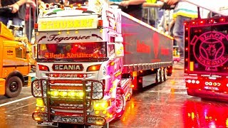 Download INCREDIBLE RC SHOW TRUCKS AND MACHINES I HIEGH DETAILED CONSTRUCTION MACHINERY I MODELL HOBBY SPIEL Video