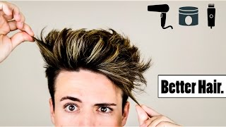 Download 4 Mens Hair Hacks to Make Your Hairstyle BETTER Video