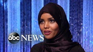 Download Muslim Woman Wears Hijab in Beauty Pageant Video