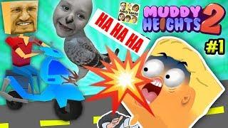Download FGTEEV Poops on People! TOILET PAPER EMERGENCY in Muddy Heights 2 w/ Duddy & Chase (Food + Poo =Eww) Video