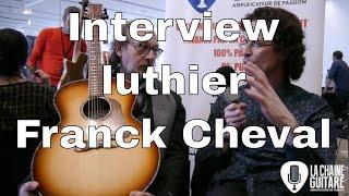 Download Interview luthier Franck Cheval - Guitares au Beffroi 2017 Video