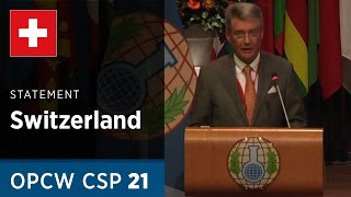 Download Switzerland Statement by H.E. Mr. Urs Breiter at CSP21 Video