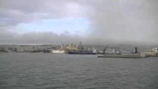 Download Le bateau pilote MIDAR, arrivée du Bni Nsar/COMANAV à Nador, Maroc 12 avril 2011 Video
