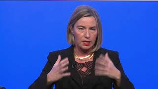 Download MED 2017 - Dialogue with Federica Mogherini Video