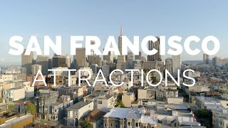 Download 10 Top Tourist Attractions in San Francisco - Travel Video Video