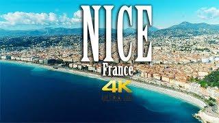 Download Nice France in 4K. Côte d'Azur. Nice Aerial. Video