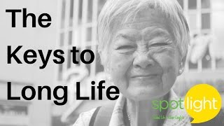 Download ″The Keys to Long Life″ - practice English with Spotlight Video