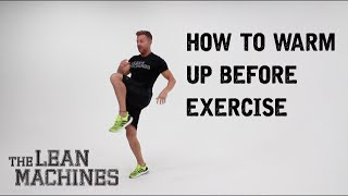 Download How to warm up before exercise Video