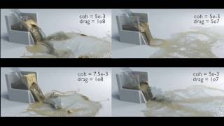 Download (SIGGRAPH 2017) Multi-species simulation of porous sand and water mixtures Video