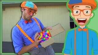 Download Blippi Educational Videos for Kids | Machines and More Compilation Video