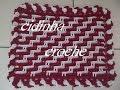 Download Croche- Tapete Bicolor Em Ponto Alto Relevo- Passo A Passo- Parte 2 Final Video
