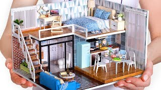 Download 5 DIY Miniature Doll House Rooms Video
