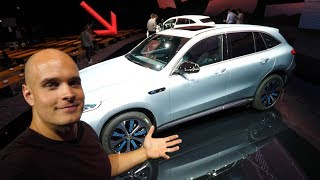 Download First look inside the Electric Mercedes! - Should Tesla Be Worried? Video