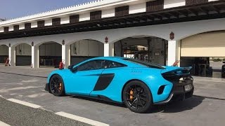 Download [50fps] CRAZY McLaren 675LT save at Ascari Race Resort with Wileco Events Video