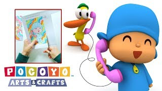 Download Pocoyo Arts & Crafts: Teléfono de Pocoyó y Pato | DIA DEL NIÑO Video