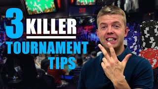 Download Poker Strategy: Live Tournament TIPS Video