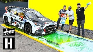 Download Can Dish Soap Stop a 600hp AWD Rallycross Car from Launching?? Video