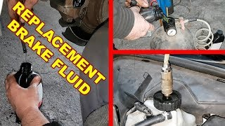 Download Replacing Brake Fluid for Mercedes W211, W219 / How to correctly change brake fluid Mercedes W211 Video