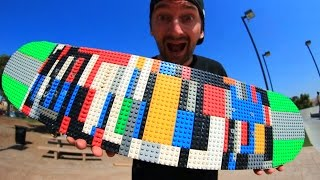 Download LEGO SKATEBOARD! | YOU MAKE IT WE SKATE IT EP 26 Video