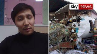 Download Kazakhstan plane crash survivor: aircraft crushed 'like a tin can' Video