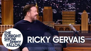 Download Ricky Gervais Enjoys Freaking Out Twitter Trolls Video