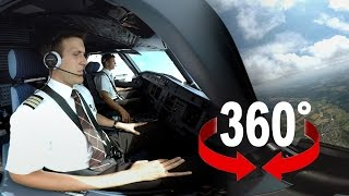 Download 360° cockpit view | SWISS Airbus A320 | Geneva – Zurich Video