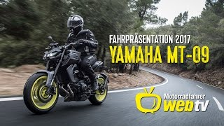 Download Fahrpräsentation - Yamaha MT-09 - 2017 Video