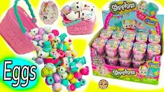 Download Full Box Shopkins Season 7 Easter Egg Hunt Surprise Mystery Blind Bag Baskets Video