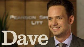 Download Patrick Adams Rapid Fire Questions | Suits Season 5 | Dave Video