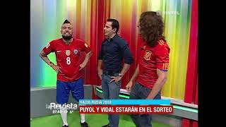 Download Humor: 'Puyol' y 'Vidal' hablaron sobre sus impresiones para este mundial Video