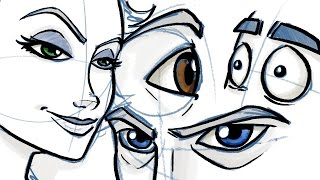 Download How to Draw Eyes for Comic and Cartoon Characters Video