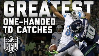 Download Greatest One-Handed Touchdown Catches of All Time | #TDTuesday | NFL Highlights Video