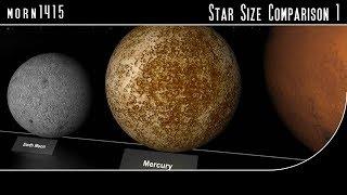 Download Star Size Comparison HD Video