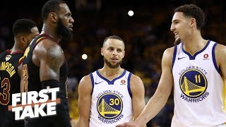 Download Stephen A. on Klay Thompson's free agency: I wouldn't trade him for LeBron James | First Take | ESPN Video