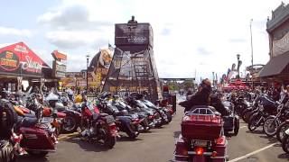 Download Sturgis 2017, main street video. Motorcycles everywhere! Video