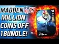 Download MADE A MILLION COINS OFF ONE BUNDLE! - Madden 17 Ultimate Team Video