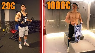 Download SALLE DE SPORT 29€ VS 1000€ !! Video