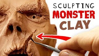 Download Sculpting MONSTER CLAY - This stuff is Epic!! Video