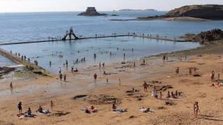 Download Timelapse grande marée à Saint Malo Video