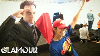 Download That Time We Dressed Up in a BAZINGA! Outfit to Interview the Cast of The Big Bang Theory! Video
