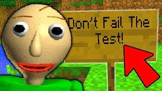 Download BALDI LEFT ME A MESSAGE IN MINECRAFT! Video
