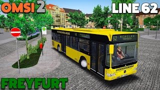 Download OMSI 2 Let's Play #37 | Mercedes-Benz Citaro 'Facelift' O530 | Freyfurt: Line 62 Video
