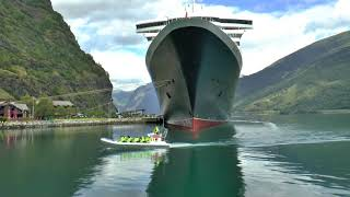 Download Queen Mary 2 - Flagship Voyage to The Fjords. Video