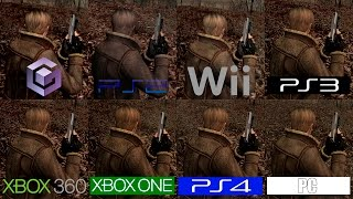 Download Resident Evil 4 | GC VS PS2 VS Wii VS PS3 VS PS4 VS 360 VS ONE VS PC | All Versions Comparison Video