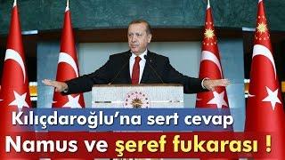 Download Erdoğan, Kılıçdaroğlu'na Sert Çıktı: ″Namus ve Şeref Fukarası″ Video