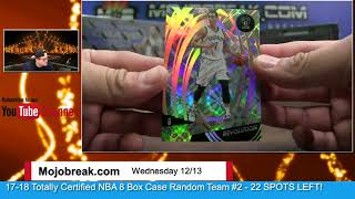 Download 12/13 - Mojobreak Quadruple Double NBA Case Break Random Team #26 Video