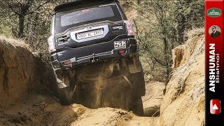 Download Scorpio 4wd, Duster AWD, Fortuner, Endeavour, Gypsy- Going down through deep ruts June 2017 Video