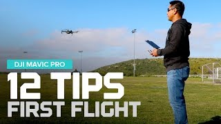 Download 12 Tips - First flight tips with the DJI Mavic Pro Video