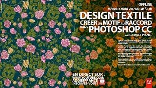 Download Tutoriel Design textile Photoshop : créer un motif au raccord |Adobe France Video